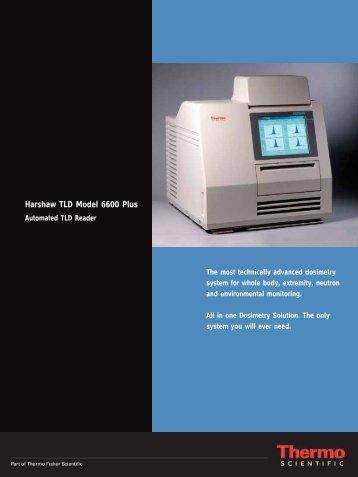 Harshaw TLD Model 6600 Plus - ENVINET as