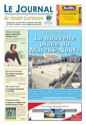 La nouvelle place du Marché-Neuf - Saint Germain-en-Laye
