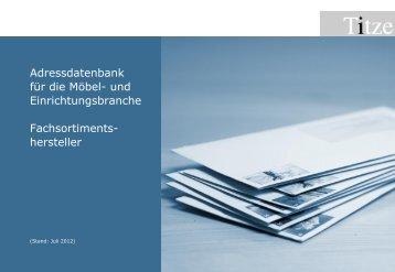 hersteller - Unternehmensberatung Titze GmbH