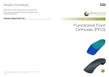 Functional Foot Orthosis (FFO) - Blatchford