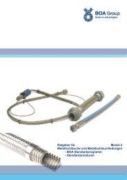 Ratgeber für Modul 2 Metallschläuche und ... - BOA Group