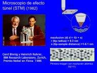 Microscopio de efecto túnel (STM) (1982) - inquimae
