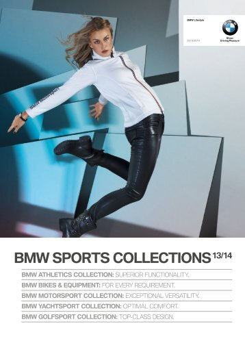 BMW Sports Collection 2013-2014 Download PDF