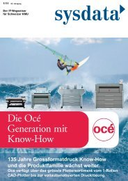 Die Océ Generation mit Know-How - Laupper AG