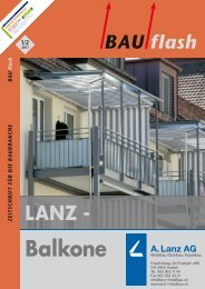 Balkone - Laupper AG