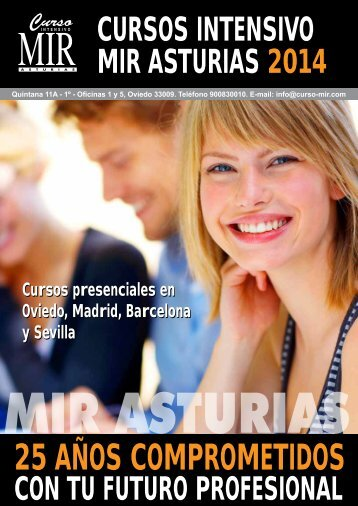 Cursos presenciales en Oviedo, Madrid, Sevilla y Barcelona Cursos ...