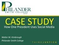 How One President Uses Social Media