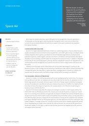 Space Air - Customer Success Story - Servoy