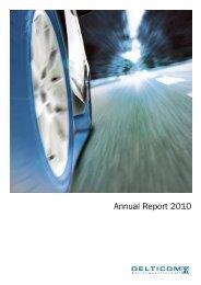 Annual Report 2010 Download pdf-file (1,05 MB) - Delticom AG