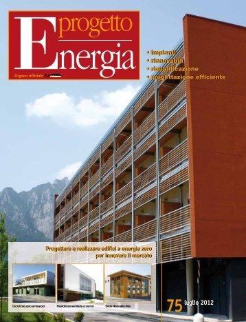 maggio 2012 luglio 2012 Progettare e realizzare edifici a ... - Sacert
