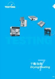 TESTING Drying/Heating
