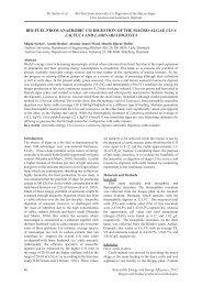 bio-fuel from anaerobic co-digestion of the macro-algae ulva lactuca ...