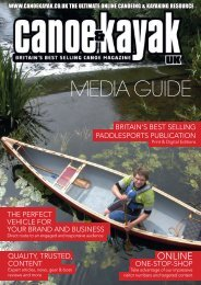 CKUK 1314 Media pack2.indd - Canoe & Kayak UK