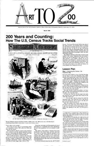 How The U.S. Census Tracks - Smithsonian Education