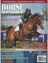 Horse Sport International - 2013 Issue 3 - Phelps Media Group