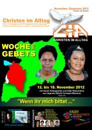 Gemeindebrief 2012-11 12 - Christen im Alltag