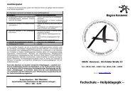 Info-Blatt - Alice-Salomon-Schule