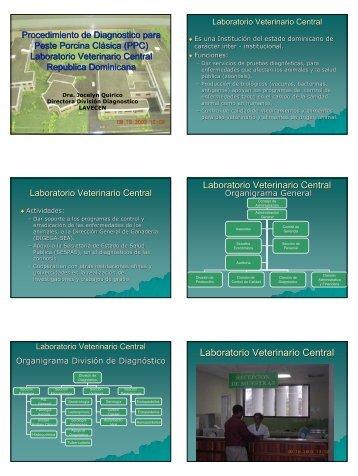 Laboratorio Veterinario Central Laboratorio Veterinario ... - Caribvet
