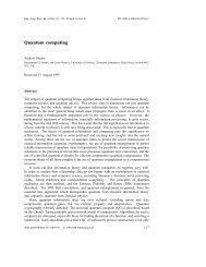 Quantum computing - Nano Mahidol