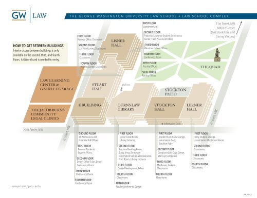Campus Map - George Washington University Law School