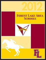 Commemorative Booklet - Forest Lake Area Schools