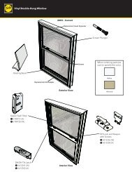 Vinyl Double-Hung Window - Pella.com