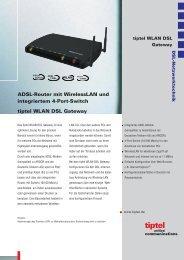 tiptel WLAN DSL Gateway - TKR