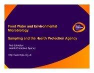 FWE Sampling - Rob Johnston - East Midlands Councils