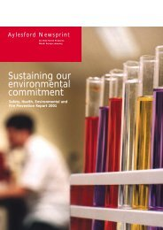 Environmental Report 2001 - SCA Forest Products AB