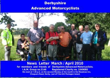 Parish profile 2003 - Derbyshire Advanced Motorcyclists