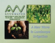 AccuWater Brochure - Hill Residential Systems