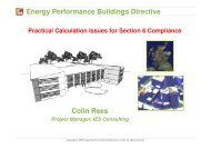 Energy Performance Buildings Directive Colin Rees