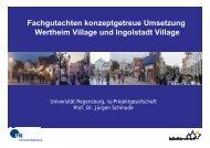 Fachgutachten konzeptgetreue Umsetzung Wertheim Village und ...