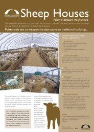 Sheep Houses - Northern Polytunnels