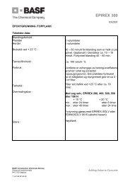 EPIREX 300 - BASF Construction Chemicals