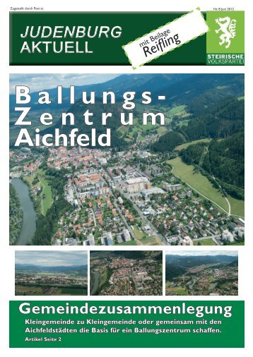 Ballungs- Zentrum Aichfeld - OEVP Judenburg