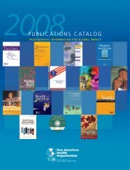 PAHO Publications Catalog