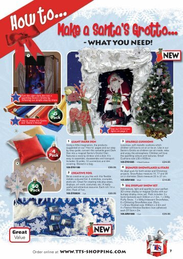 Make a Santa'S Grotto... - TTS