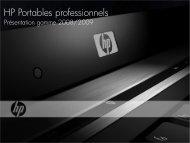 Présentation Gamme 2008 (FR) Updated (19/02/2009) - HP