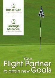 Your to attain new Goals - Hanse Golf Hamburg