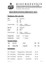 Rangliste Bischofsteinschiessen Sissach 2011.pdf - Pistolenklub ...