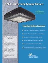 XPG3 LED Parking Garage Fixture - LSI Industries Inc.