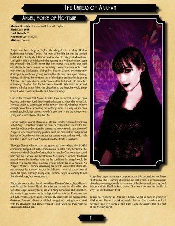 The Undead of Arkham - Dark Aeons