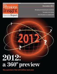 2012: A 360 degree preview - Pensions Insight