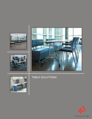Table Solutions Brochure PDF - KI.com
