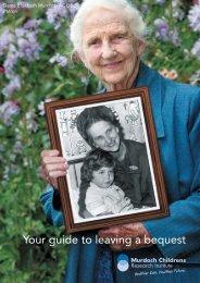 bequest brochure - Murdoch Childrens Research Institute