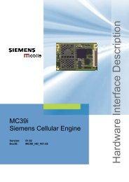 MC39i Siemens Cellular Engine