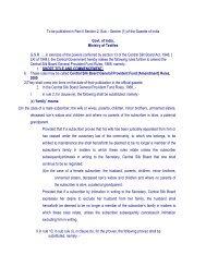 Gazette Notification reg. Central Silk Board General Provident Fund