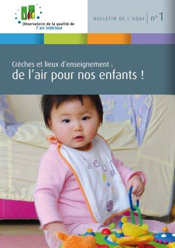 de l'air pour nos enfants ! - Association Santé Environnement France