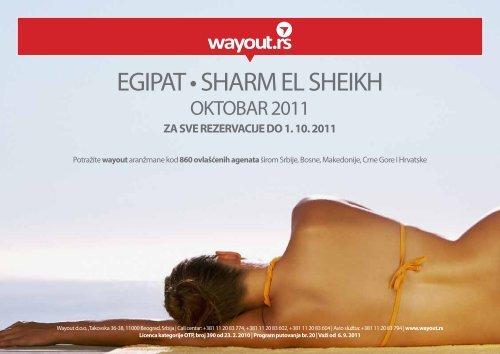 EGIPAT • SHARM EL SHEIKH - Wayout